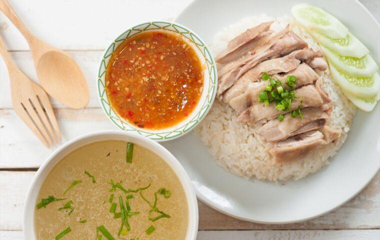 タイ料理 カオマンガイ