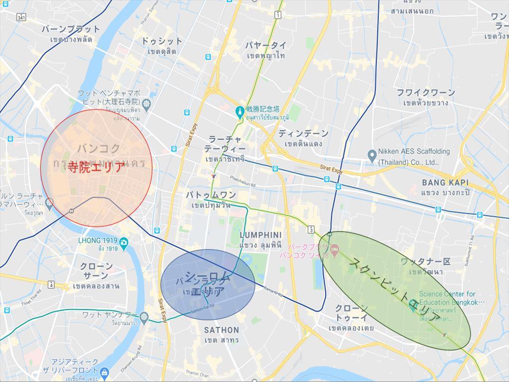 バンコク地図