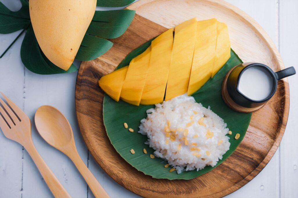 タイ料理 マンゴーライス