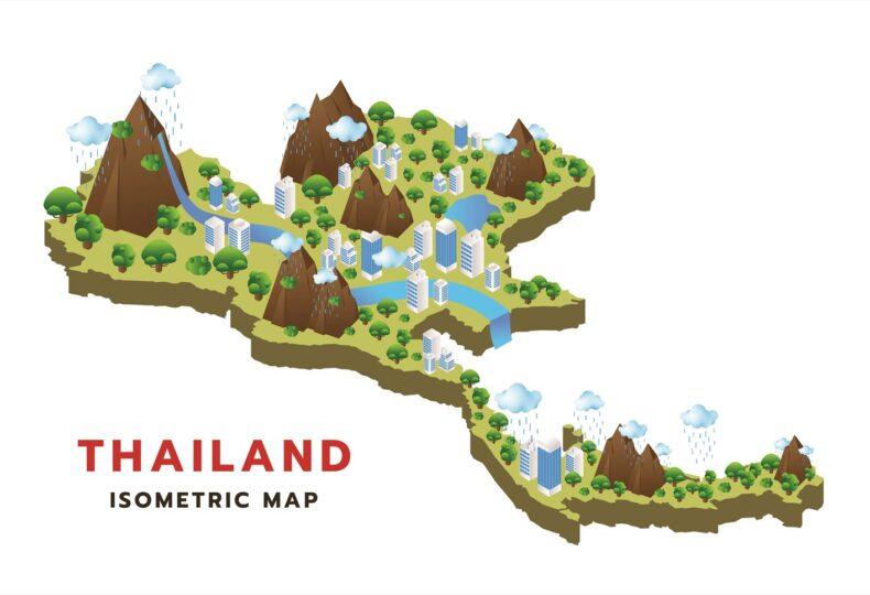 タイ 地方都市 移住