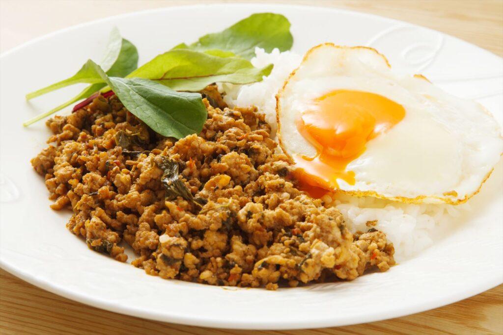 タイ料理 ガッパオライス